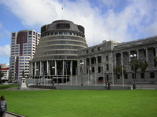 Parliament, the Beehive & Bowen House