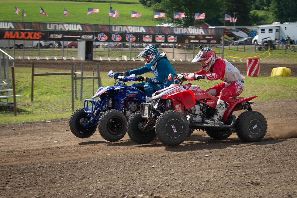 Hetrick and Wienen battled throughout the day on Saturday, Hetrick took the overall win with Wienen taking second overall.