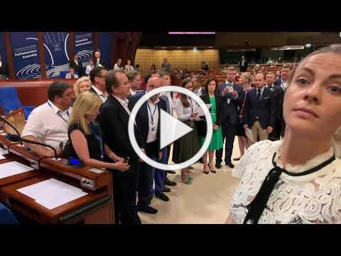 Statement by Members of 7 Delegations about situation in Parliamentary Assembly Council of Europe. To view video please click on image above