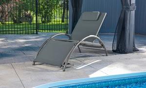 Vivere Aluminum Dockside Sun Lounger