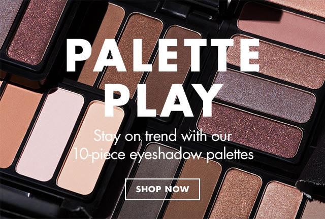 10-piece eyeshadow palettes fo...