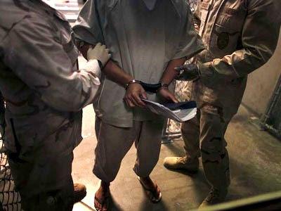 Fotografía tomada en el Campamento 6 del centro de detención de Guantánamo.