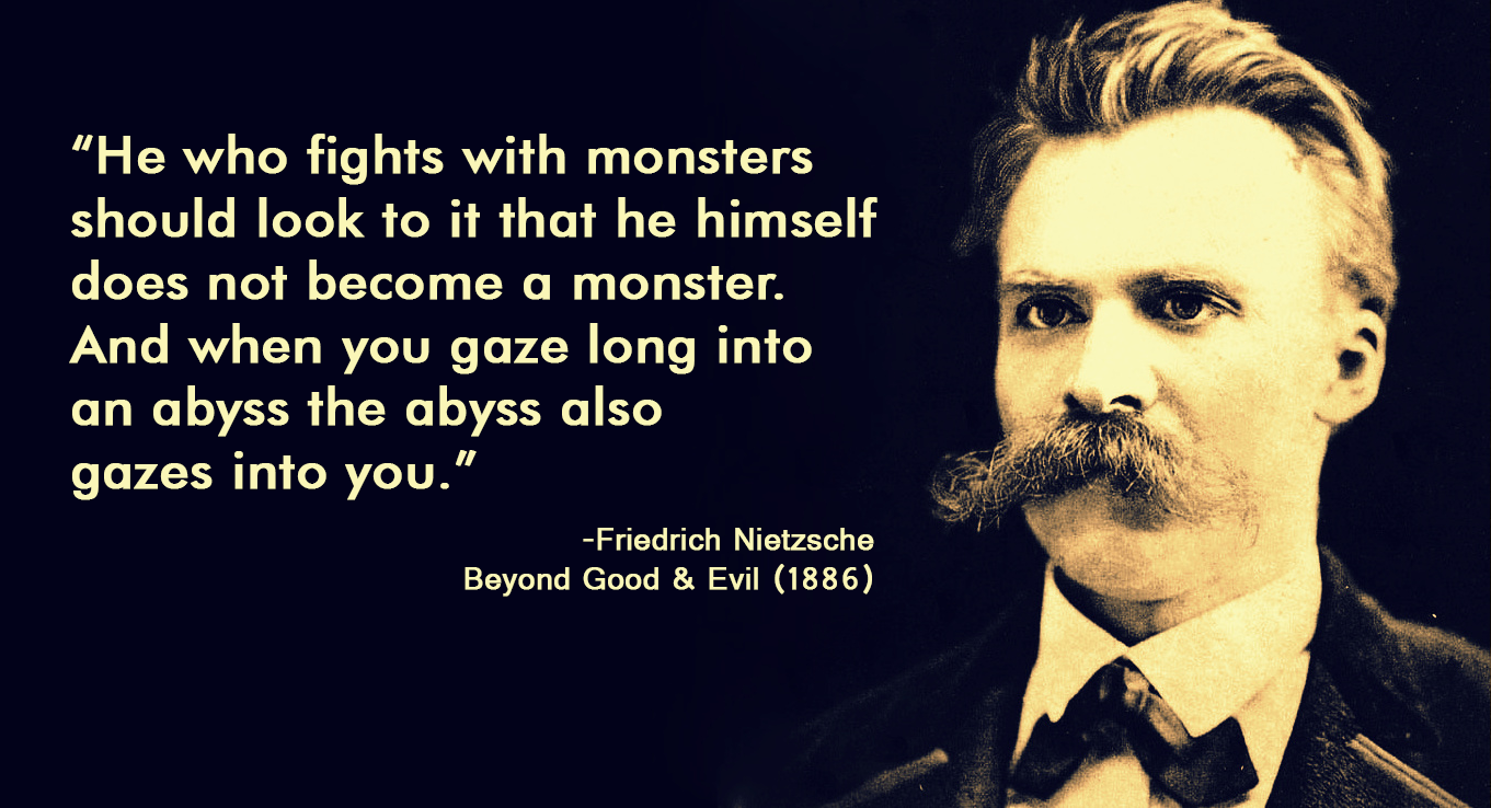 Image result for Friedrich Nietzsche monsters