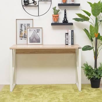 Lexee Meja Kantor - Oak Putih