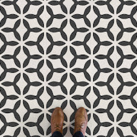 Concave | Vintage Abstract Pattern Flooring