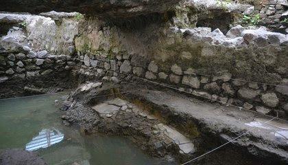 14th-Century Steam Bath Found in Mexico City image