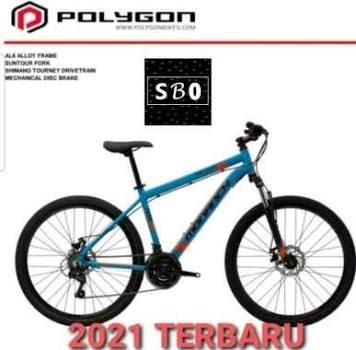 Sepeda MTB 26 Inch Polygon Monarch M5