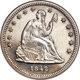 1842 Quarter Large Date PR64 Cameo NGC