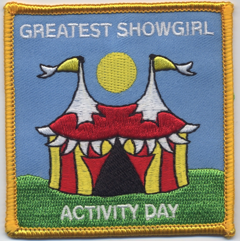 Greatest Showgirl Activity Badge