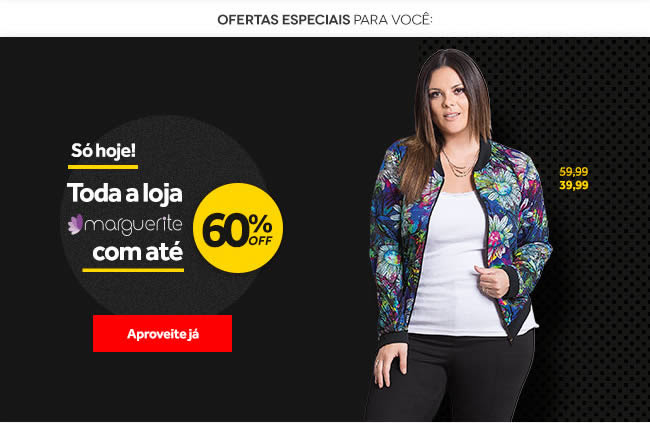 Moda Plus Size Marguerite | Com até 60% OFF