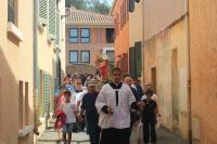 Une procession à Porquerolles