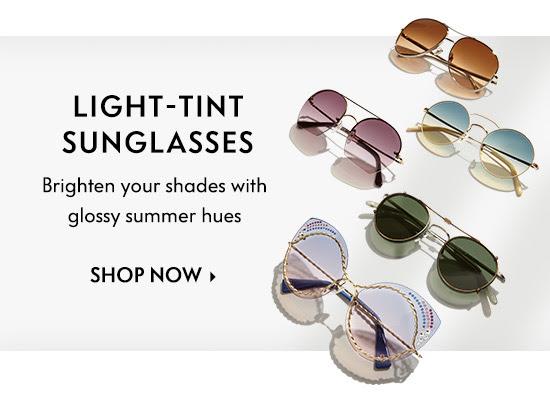 Light-Tint Sunglasses