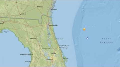 Dahboo77 Video: Explosion from Secret Military Test Causes 3.8 Earthquake Off Florida Coast