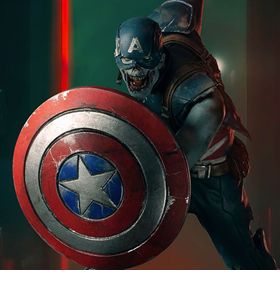 What If...? Zombie Captain America 1/10 Art Scale Limited Edition Statue