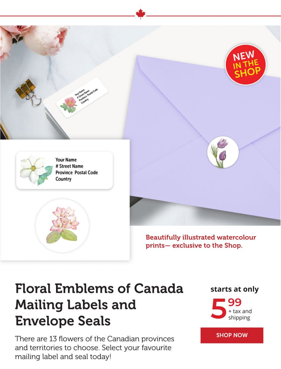 Floral emblems of Canada