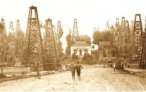 Los Angeles Oilfield CIrca 1900 AOGHS