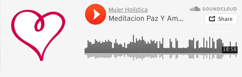meditacion paz y amor