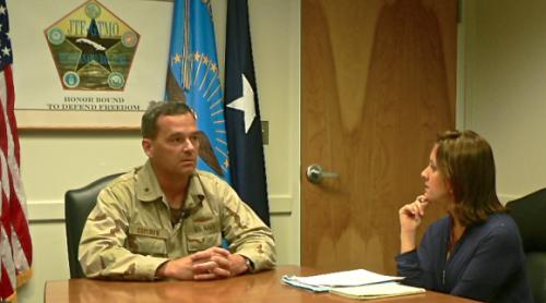 Entrevista con el almirante Thomas Copeman, director de la prisión de Guantánamo.