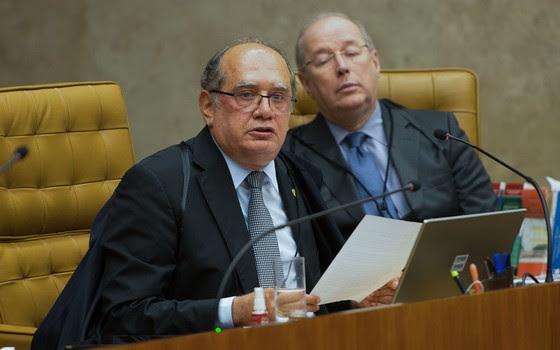 Gilmar Mendes, ministro do STF, vota contra proibição de financiamento privado de campanhas eleitorais (Foto: Fabio Rodrigues Pozzebom / Agência Brasil)
