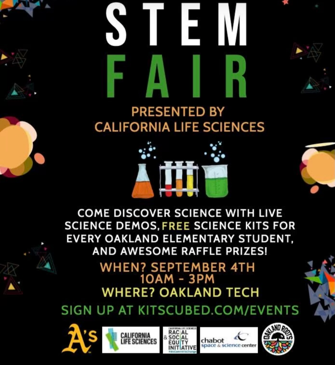 Science Fair At Oakland Tech On Labor Day Weekend With 2021 Tech Valedictorian 2