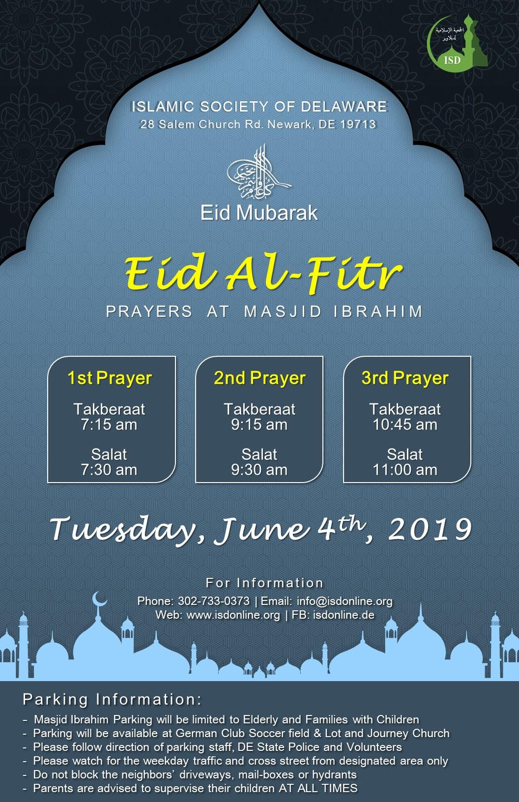 EidAlFitr 2019 Flyer