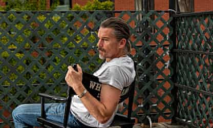 Ethan Hawke: 'It's just a petrifying time to speak about male sexuality'
