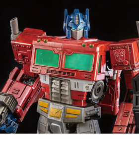 Transformers: War for Cybertron Trilogy DLX Scale Collectible Series Optimus Prime