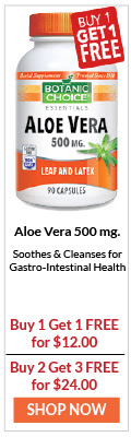 Aloe Vera Soothes & Cleanses for Gastro-Intestinal Health