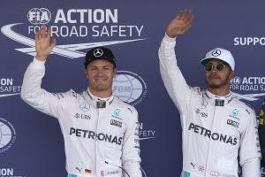 Rosberg Hamilton