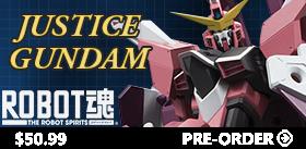 ROBOT SPIRITS JUSTICE GUNDAM
