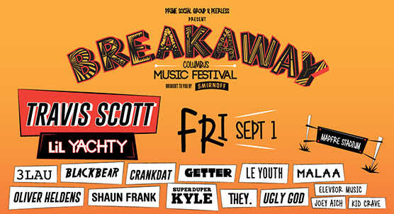 Breakaway Music Festival begins on Friday_ Click for tickets.