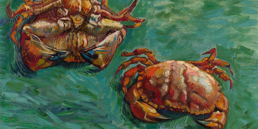 Image credit: Two Crabs (detail), by Vincent van Gogh, 1889, Faggionato Fine Arts, London, England.