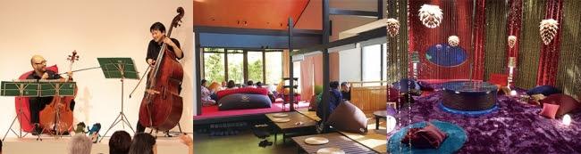 ▲左から…「大阪クラシック」「Gensen Cafe」「ギャラクシー街道」