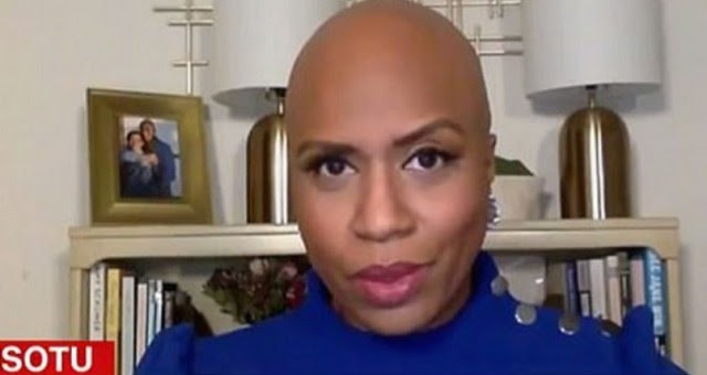 BALD Foul Squad Member Blames Something Non Existent And Says THIS About Capitol Riots