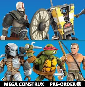 Mega Construx Heroes Wave 2