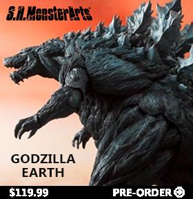 Godzilla S.H.Monsterarts Godzilla Earth