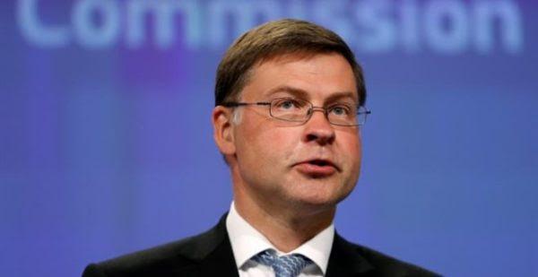 Ντομπρόβσκις: Επιτεύξιμοι οι στόχοι του ελληνικού προϋπολογισμού