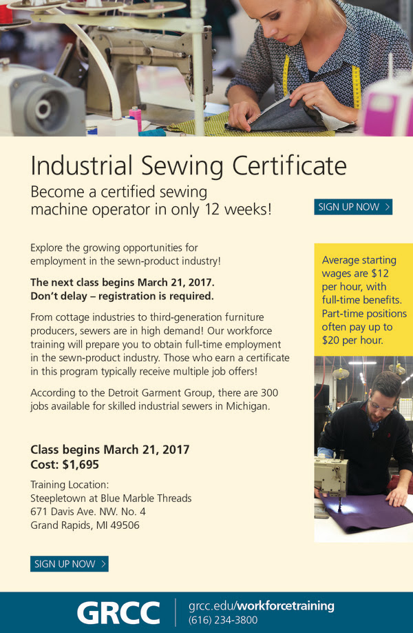 67231 Industrial Sewing VR 2017