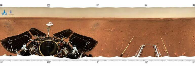 Tianwen-1'in Mars'a iniş görüntüleri_fororder_24f5903243746e66c2b3ea097b445c6d