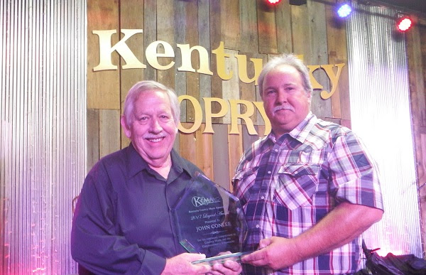 John Conlee with Kenneth Reynolds