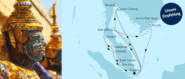Asien-Kreuzfahrten
