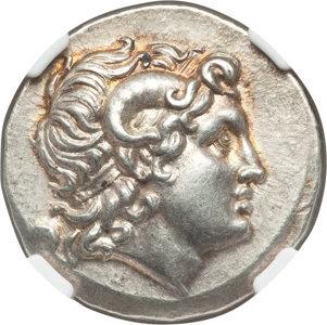 THRACE. Byzantium. Ca. 250-200 BC. AR tetradrachm (30mm, 16.86 gm, 12h). NGC Choice AU★ 5/5 - 5/5