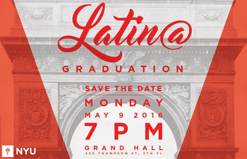 Nyu Alumni Hall Floor Plan: Latin@ Graduation