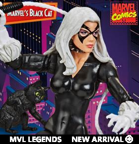 Spider-Man Marvel Legends Retro Collection Marvel's Black Cat