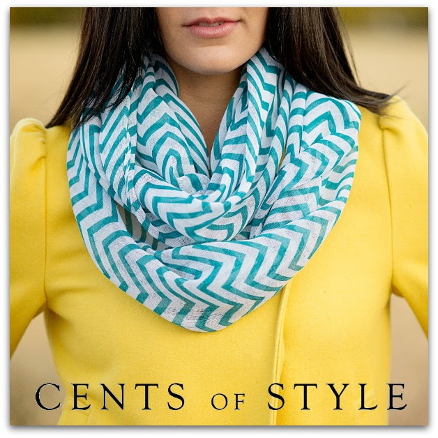 Fashion Friday- 12/13/13- Chevron Infinity Scarf- $7.95 & FREE SHIPPING with Code CHEVRON8