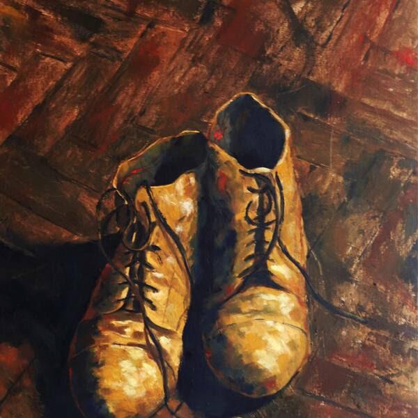 Artist's boots #1 - Vieira Saraiva