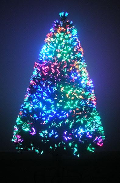 Εντυπωσιακά Χριστουγεννιάτικα Δέντρα Οπτικής Ίνας LED