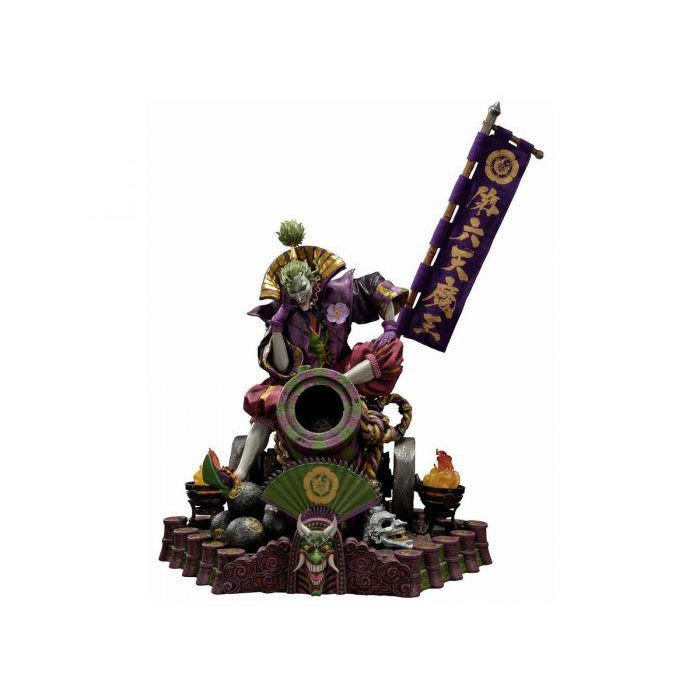 Image of Premium Masterline 1/4 Scale Ninja Batman: Sengoku Joker Statue - JANUARY 2020