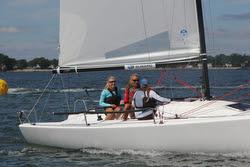 AYC Girls team- sailing J/70 Women's World Championship