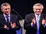 Tanto Macri como Fernández tuvieron varios cruces dialécticos durante el debate.